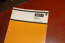 CASE POCLAIN DROTT 160 CL Excavator Trackhoe Crawler Parts Manual Book catalog
