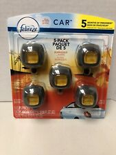 Febreze Car Air Vent Clips - 5 Pack Hawaiian Aloha Scent
