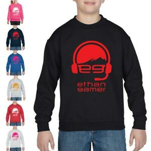Ethan Gamer Kids Youtuber Cool Funny Present Youtuber EGTV Pullover SweatShirt
