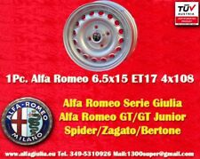 1 Cerchio Alfa Romeo 6.5x15 ET17 Giulia GT GTA Wheel 1Stk Felge llanta jante TUV