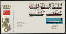 Great Britain 575-80 on addressed FDC - Ships