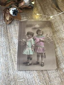 Mini Note Book Hand Bag Size Sass & Belle Vintage Friends Cover