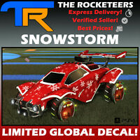 [PS4/PSN] Rocket League SNOWSTORM Universal Animated Decal Rocket Pass 2