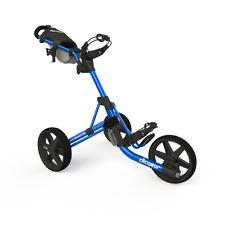 Golftrolley Clicgear 3.5+, 3-Rad, das neueste Modell, Farbe: blue-black !