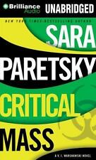 A V. I. Warshawski Novel: Critical Mass Sara Paretsky (2013, 15 CDs) Audio Book