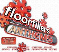 FLOORFILLERS ANTHEMS various (3x CD Compilation) Acid House, Trance, Garage, Pop