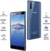 4G Telephone Portable debloqué, 16Go ROM/64 Extensible, Android 9,0, 5.0 Pouces