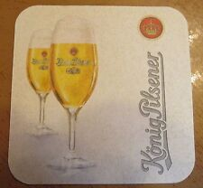 Konig Pilsener Beer Coaster ~ Germany