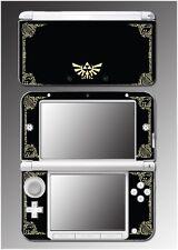 Legend of Zelda Link Princess Hyrule Logo Video Game Skin for Nintendo 3DS XL