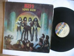 """KISS """" love gun"""" LP"""