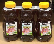 3~24 oz bottles ORGANIC HONEY BEARS 4.5 Lb ☆ U.S. Grade A Certified