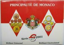 Monaco 2001 : official FDC set. NEW, UNOPENED!