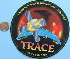 NASA STICKER vtg TRACE Small Explorer GSFC SAO SLISR Transition Region/Coronal