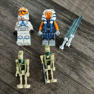 LEGO Star Wars Minifigures from 75283 ~ Ahsoka Tano Battle Droids Clone Trooper