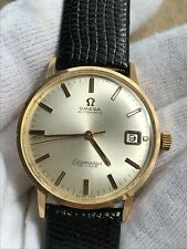 OMEGA SEAMASTER DE VILLE AUTOMATIC CAL.565 SOLID GOLD 18K MENS SWISS