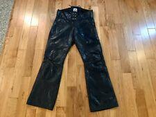 Langlitz Portland Vintage Original Leather Motorcycle Pants 35 x 32