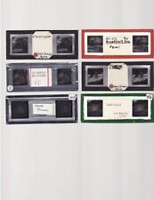 """6 Vintage Stereo Viewer 3D Color Slides """"Various Images of Animals"""""""