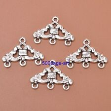 10pcs Tibetan silver Charm Earring Connectors 23x17MM Jewellery Making