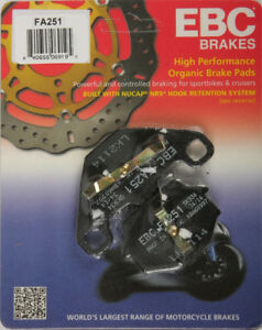 Volar Rear Brake Pads for 1996-1997 Buell S1 Lightning