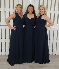 Chiffon Convertible Bridesmaid Dress Multi Way Infinity Multi Wear Prom Long