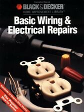 Basic Wiring   Electric Repair  Black   Decker Home Improvement Libra