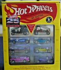 Hot Wheels 25th Anniversary Collector's Edition 8-Pack Set Series #1