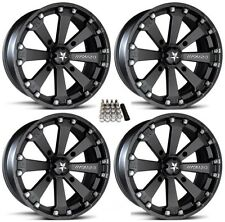 """MSA M20 Kore UTV Wheels/Rims Black 14"""" Can-Am Maverick X3"""