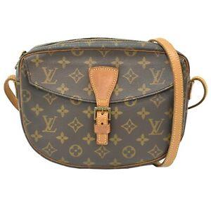 Louis Vuitton Jeune Fille MM M51226 Monogram Crossbody Shoulder Bag Pochette LV