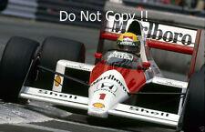 Ayrton Senna McLaren MP4/5 Winner Monaco Grand Prix 1989 Photograph 7