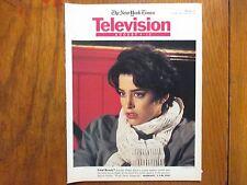 Aug. 4, 1991 N Y Times TV Mag(JENNIFER  RUBIN/SALLY KELLERMAN/DROP DEAD GORGEOUS