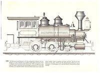 Baldwin Saddle Tanker/Prince Grand Para Railroad Brazil Riggenbach Engine print