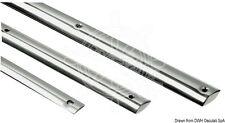 Osculati Semi-Round Stainless Steel Profile 30mm (pcs 3 m)