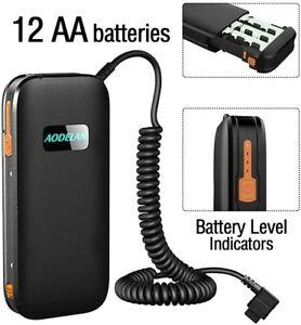 AODELAN External Flash Battery Pack Speedlite Power Bank, Replaces Canon CP-E4