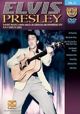Guitar Play-Along Elvis Presley Learn to Play Jailhouse Rock N Roll Music DVD
