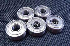 (2 PCS) 440c Stainless Steel Shielded Ball Bearing (SMR85ZZ MR85ZZ) (5x8x2.5 mm)