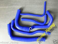 BLUE Silicone Hose for SAAB 9000 AERO 2.3L B234 / 900/9-3 2.0L B204 Turbo