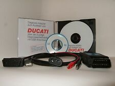Ducati MV Agusta Morini Moto Guzzi Diagnose progr. mit Hardware Komplett Softwar