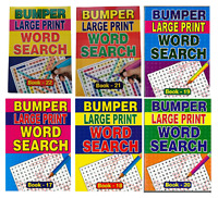 A4 Bumper Word Search Large Jumbo Print 129  Puzzles Each Book Fast Delivery