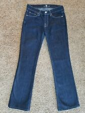 SEVEN FOR ALL MANKIND womens Bootcut jeans - size 27 -- 28 x 31 -- 7 boot cut