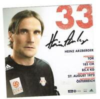 Heinz Arzberger  AK RB Salzburg / Österreich mit original Unterschrift