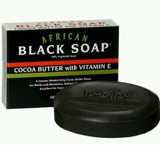 African Black Soap Cocoa Butter With Vitamin E (FREE SHIPPING)
