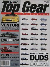 Top Gear magazine 05/1995 featuring Venturi, Toyota Celica, BMW, SAAB,Alfa Romeo