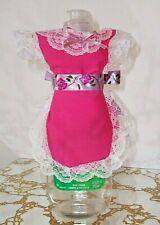 New listing Everyday Pretty Pink Apron cover-up Dish soap pancake syrup catsup bottle gift