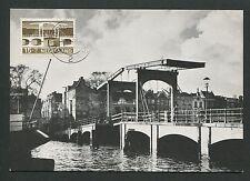 Pays-Bas MK 1968 ponts Amsterdam Bridge CARTE MAXIMUM CARD MC cm d5759