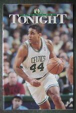 Oct. 1996 Boston Celtics Tonight Program vs. Chicago Bulls with Rick Fox Cover