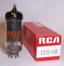 NEW RCA 12BA6 RF/IF AMPLIFIER RADIO TUBE / VALVE - HF93