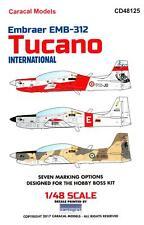 Caracal Decals 1/48 EMB-312 TUCANO In International Service