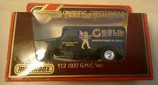 "Matchbox Y12 1937 GMC Van Furgoneta Negro ""Goblin"" Nuevo en Emb. Orig."