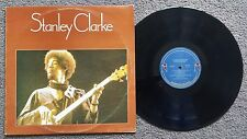 STANLEY CLARKE - SELF TITLED - OZ PRESS NEMPEROR LABEL BASS JAZZ FUSION LP 1974