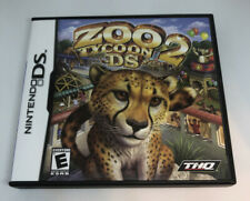 Zoo Tycoon 2 (Nintendo DS) Original Release Super Complete CIB Free Shipping!